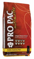 Сухой корм для собак крупных и гигантских пород Pro Pac Ultimates Large Breed Adult with Chicken Meal & Brown Rice с курицей и коричневым рисом